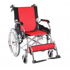 Lightweight Wheelchair Standard Red 6008