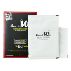 Once A Week Weekly Deodorant (3' Wipes)