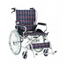 Wheelchair Standard Lilac Aluminum Light Weight
