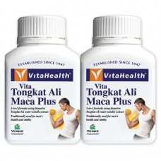 VitaHealth Tongkat Ali Maca Plus 60'x 2