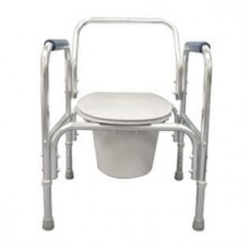 Commode, Aluminum Adjustable